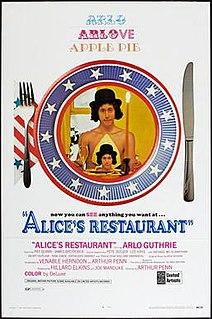 <i>Alices Restaurant</i> (film) 1969 film by Arthur Penn