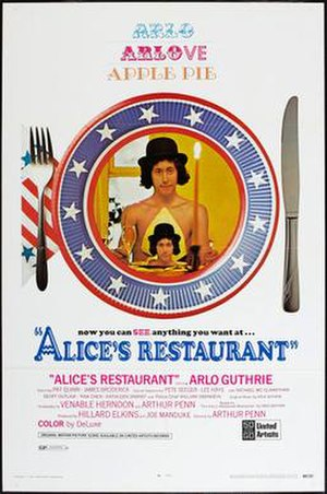 Alice's Restaurant (film) - Theatrical release poster