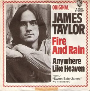 Fire and Rain (song) - Image: Fire and Rain James Taylor