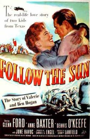 Follow the Sun (film) - Theatrical release poster