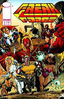 Freak Force Image Comics