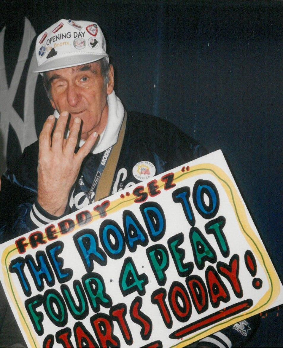 Freddy Schuman (2001 Opening Day)