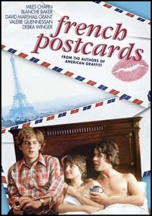 French Postcards - DVD cover for the film