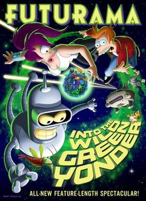 Futurama: Into the Wild Green Yonder - Image: Futurama Wild Green Yonder