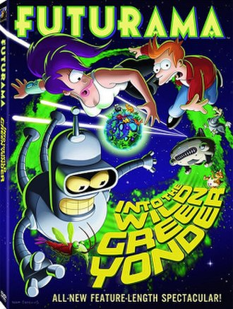 Futurama: Into the Wild Green Yonder - DVD cover