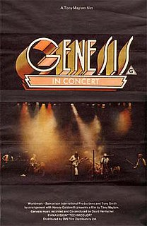 <i>Genesis: In Concert</i> 1977 film by Tony Maylam