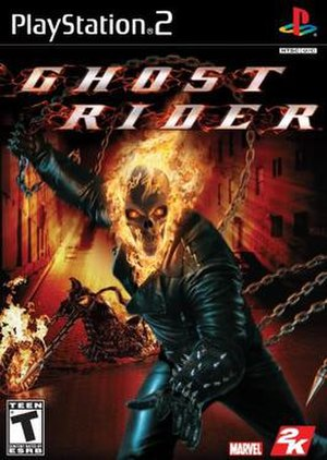 Ghost Rider (video game) - Image: Ghost Rider PS2