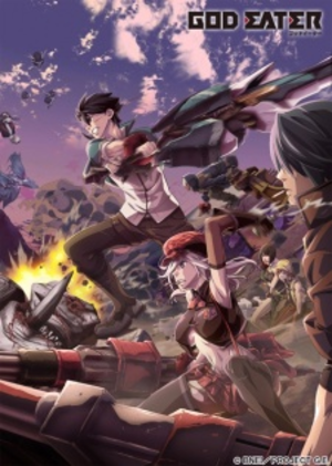 God Eater (anime) - Image: God Eater poster