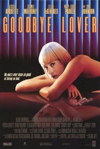Goodbye Lover - Theatrical release poster