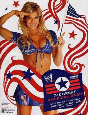The Great American Bash (2005) - DVD cover featuring Torrie Wilson