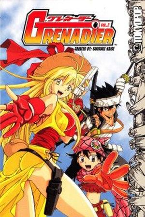 Grenadier (manga) - Image: Grenadier (manga) Vol 2