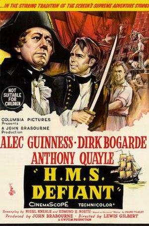H.M.S. Defiant - Original UK film poster