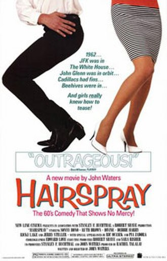 Hairspray (1988 film) - Theatrical release poster