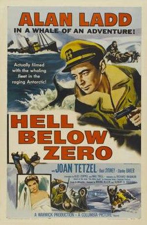 Hell Below Zero - Image: Hell Below Zero Film Poster