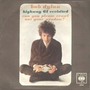 Highway 61 Revisited (song) - Image: Highway 61 Revisited single cover