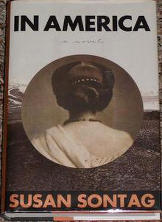 In America (novel) - The front cover is illustrated by the ca. 1862 photograph Woman Seen from the Back.