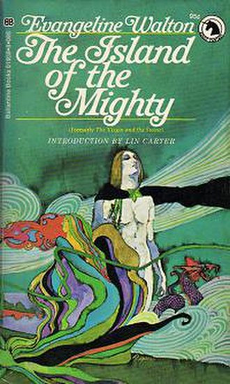 The Island of the Mighty - Cover of first paperback edition