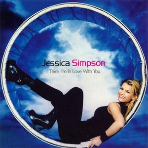 I Think I'm in Love with You - Image: Jessicasimpson single ithinkiminlovewithyo u