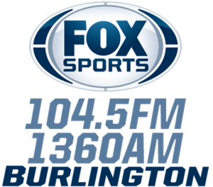 KBKB (AM) - Image: KBKB Fox Sports 104.5 1360 logo