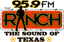 KFWR 95.9TheRanch logo.png
