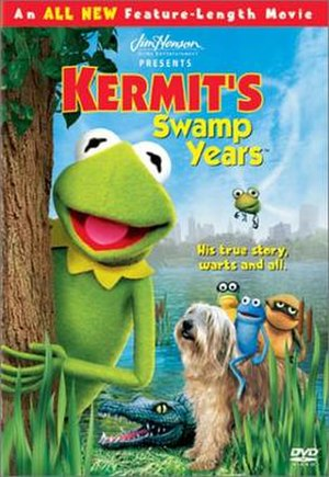 Kermit's Swamp Years - DVD cover