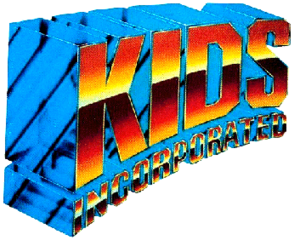 Kids Incorporated - The seasons 0 (pre-1)–8 (1983–1992) logo.