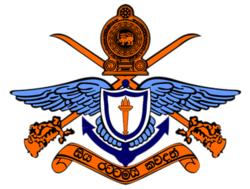 Crest of the General Sir John Kotelawala Defence University