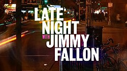 late night with jimmy fallon wikipedia