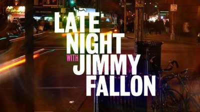 Picture of a TV show: Late Night With Jimmy Fallon