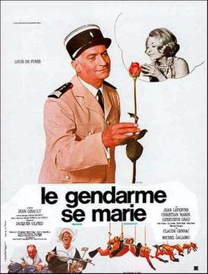 Le gendarme se marie - Poster