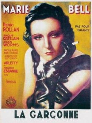 La Garçonne (1936 film) - Marie Bell in La Garçonne (1936)