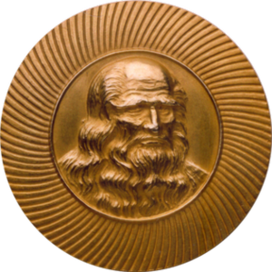 Leonardo da Vinci World Award of Arts - Image: Leonardo da Vinci World Award of Arts Medal