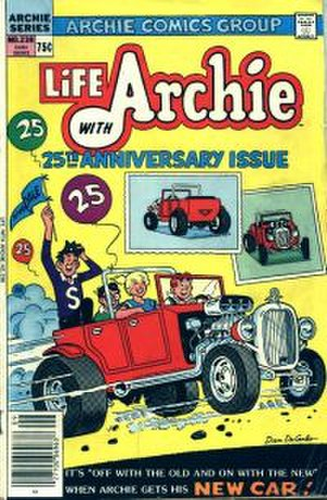 Archie Andrews - Issue 238 of Life With Archie from 1983, in which Archie's jalopy is destroyed
