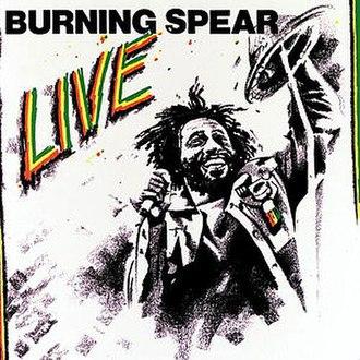 Live (Burning Spear album) - Image: Live 500x 500