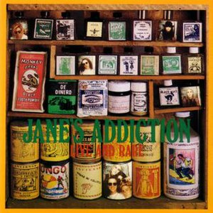Live and Rare (Jane's Addiction album) - Image: Live and Rare cover