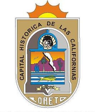 Loreto, Baja California Sur - Image: Loreto escudo de armas
