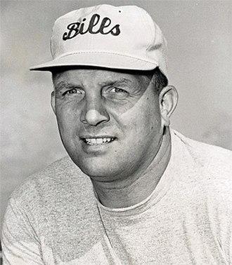 Lou Saban - Saban as Buffalo Bills coach in 1963