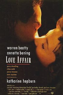 <i>Love Affair</i> (1994 film) 1994 film by Glenn Gordon Caron