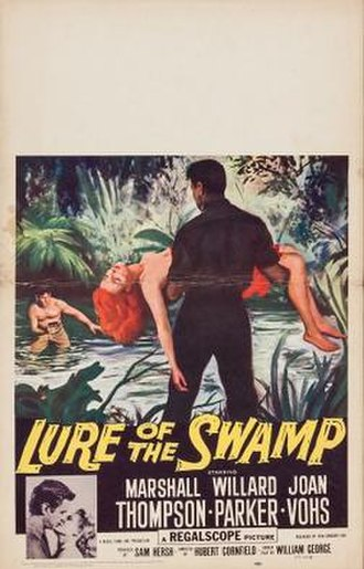 Lure of the Swamp - Theatrical release poster