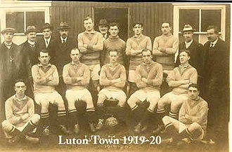 History of Luton Town F.C. (1885–1970) - The Luton Town team of 1919–20, the final Southern League season