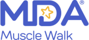 Muscular Dystrophy Association - Official MDA Muscle Walk logo since 2016.