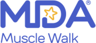 Muscular Dystrophy Association - Official MDA Muscle Walk logo since 2016.