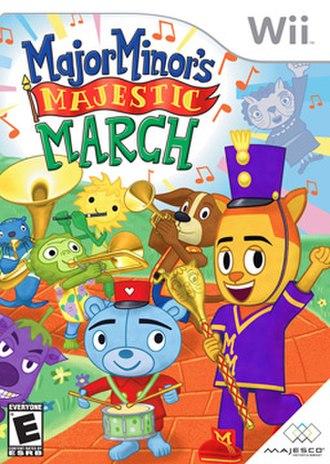 Major Minor's Majestic March - Image: Major minor box art