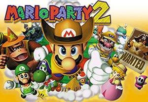 Mario Party 2 - Australian box art
