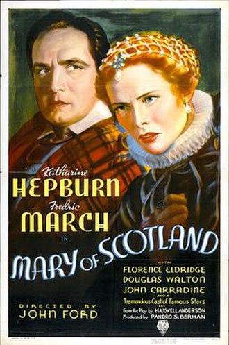 Mary of Scotland (film) - movie poster