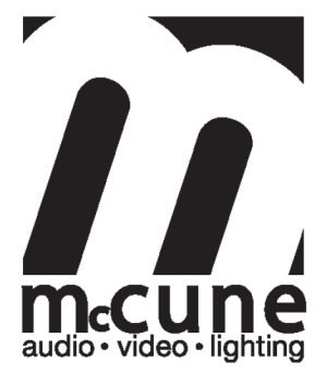 McCune Audio/Video/Lighting