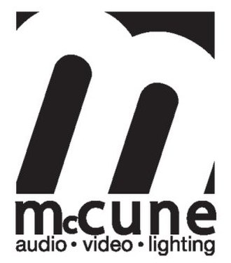 McCune Audio/Video/Lighting - Image: Mc Cune logo 2009