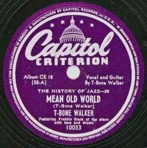 Mean Old World - Image: Mean Old World single cover