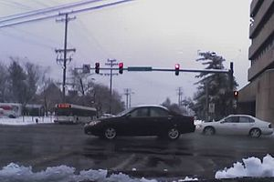 Milford Mill Road - The intersection of Milford Mill Road and Reisterstown Road