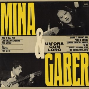 Mina & Gaber: un'ora con loro - Image: Mina & Gaber un'ora con loro